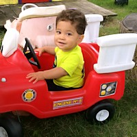 Child Care Safety - Fire Truck