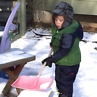 Child Care Safety - Shoveling