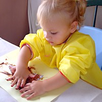 Daily Activities - Fingerpainting