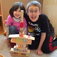Family Child Care - Playing Blocks