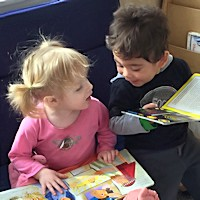 Family Child Care - Children Reading