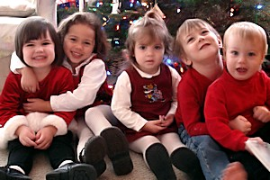 Quality Child Care Program - Christmas Photo